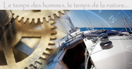 horlogerie déco marine